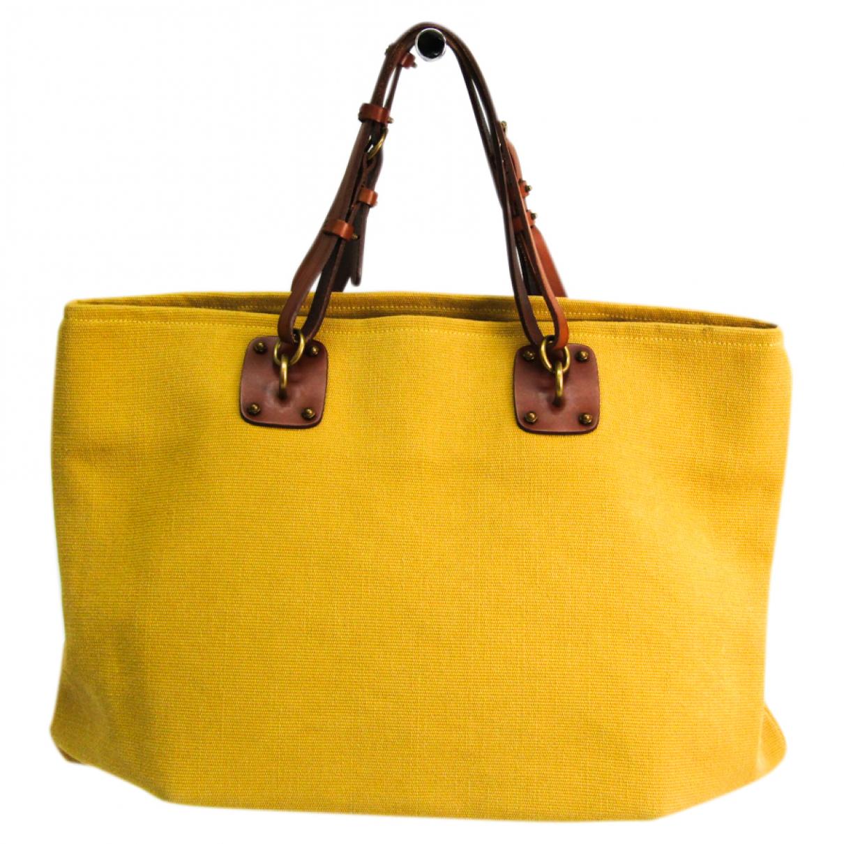 Bottega Veneta N Yellow Leather handbag for Women N