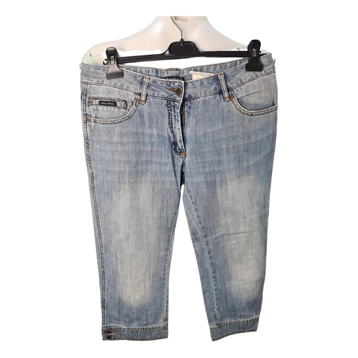 Dolce & Gabbana - Short   pour homme en coton - bleu