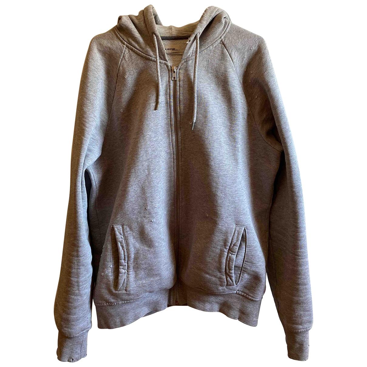 Mauro Grifoni \N Pullover.Westen.Sweatshirts  in  Grau Baumwolle