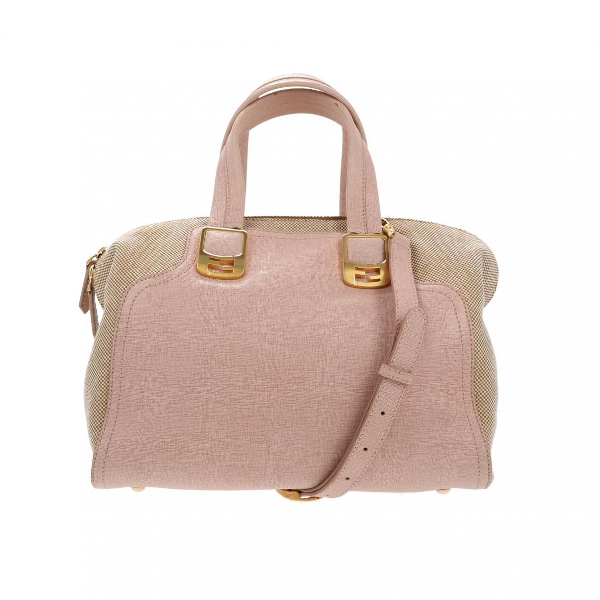 Fendi Chameleon Pink Leather handbag for Women \N