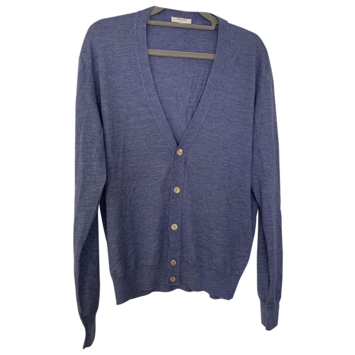 Autre Marque \N Pullover.Westen.Sweatshirts  in  Blau Kaschmir