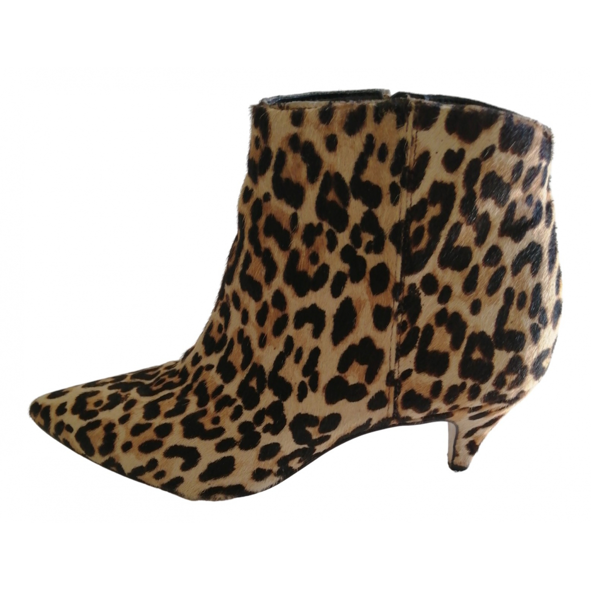 Sam Edelman N Beige Leather Ankle boots for Women 36.5 EU