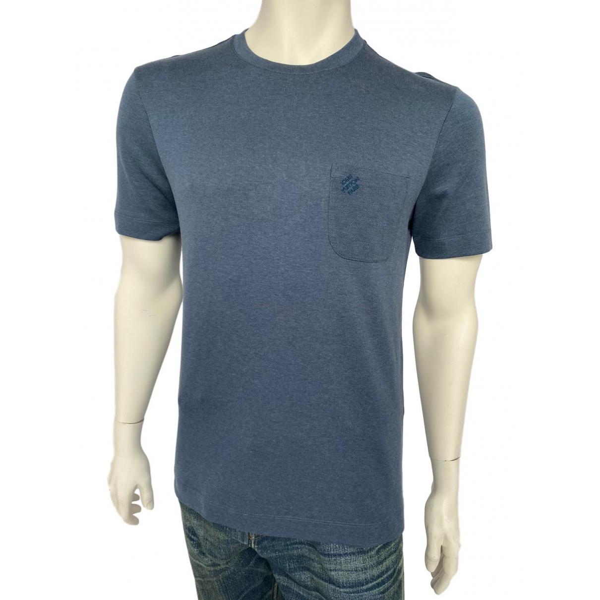 Louis Vuitton \N Blue Cotton T-shirts for Men S International