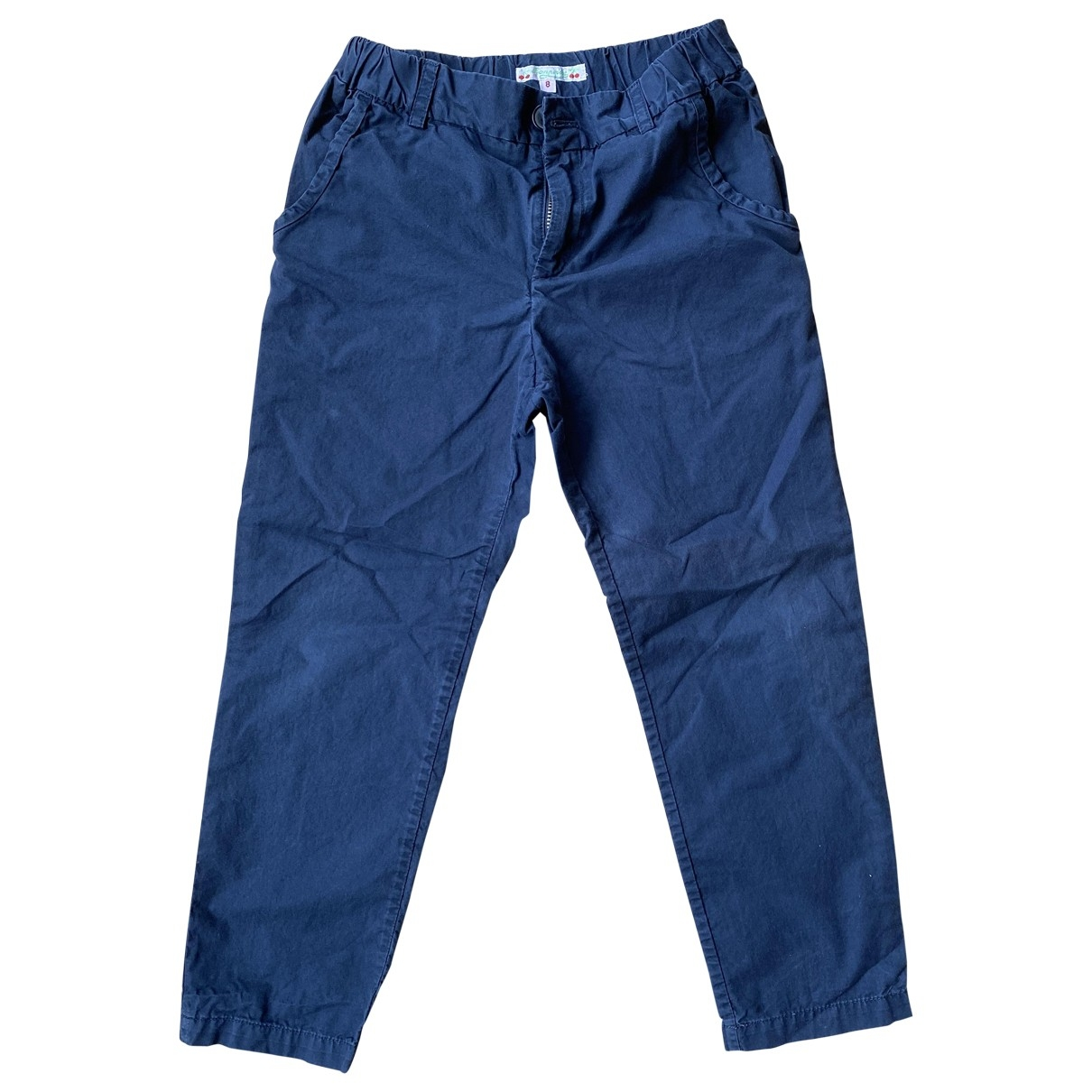 Bonpoint \N Navy Cotton Trousers for Kids 8 years - up to 128cm FR