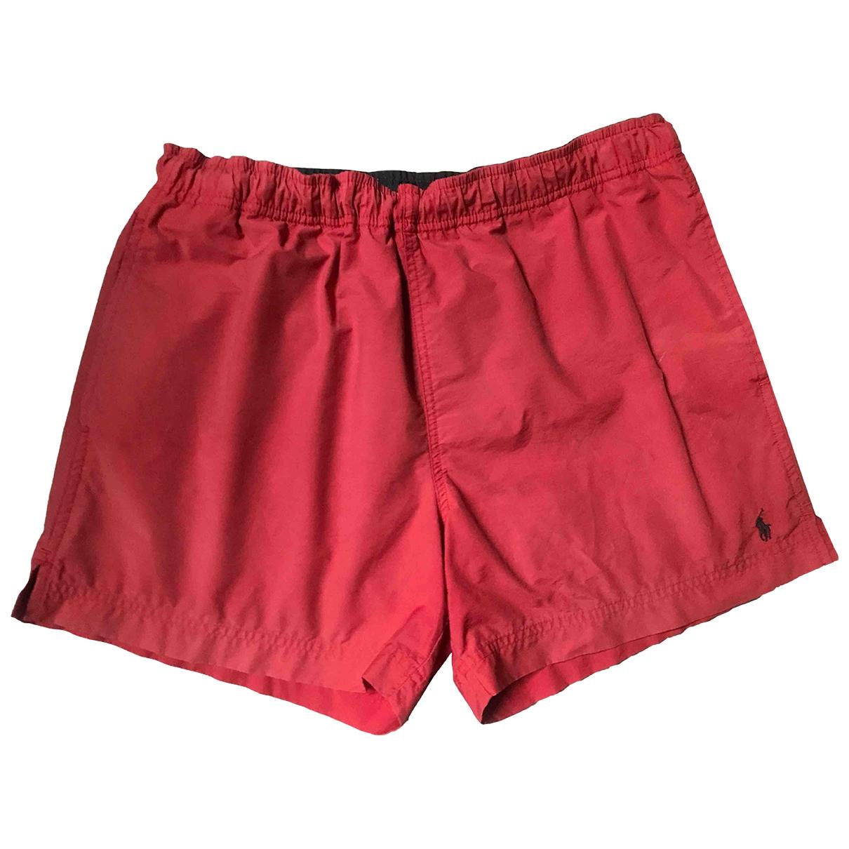 Polo Ralph Lauren \N Red Cotton - elasthane Swimwear for Men S International