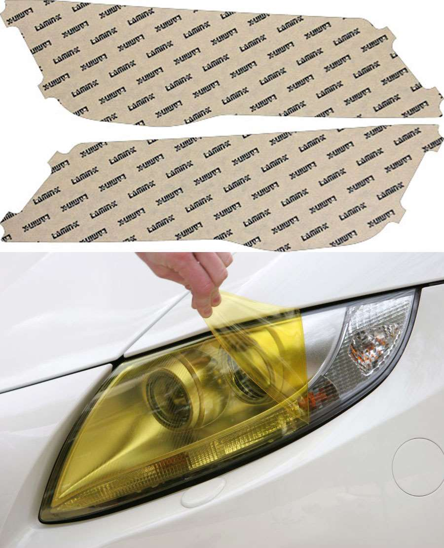 Audi A7 12-15 Yellow Headlight Covers Lamin-X A026Y