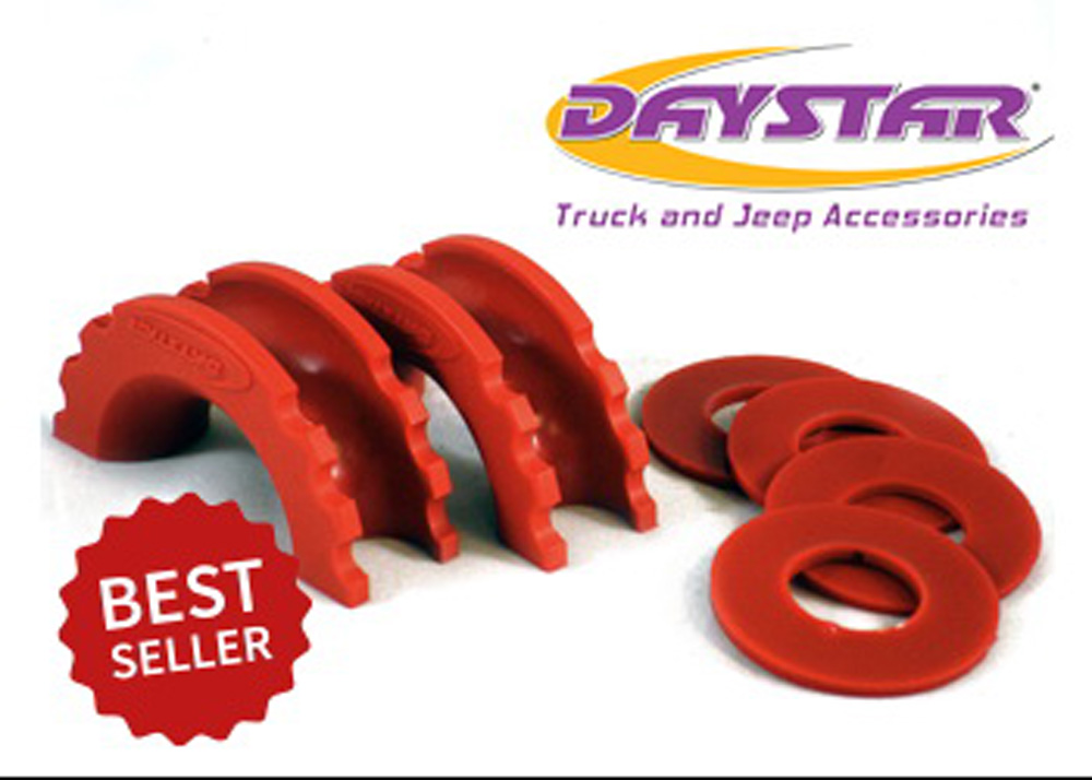 D-Ring Isolator and Washers Red Daystar KU70057RE