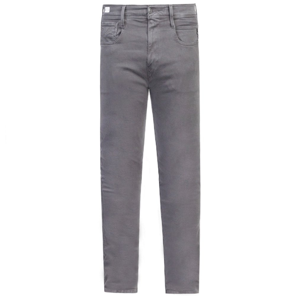 Replay Hyperflex Color Edition Jeans Colour: GREY, Size: 32 32