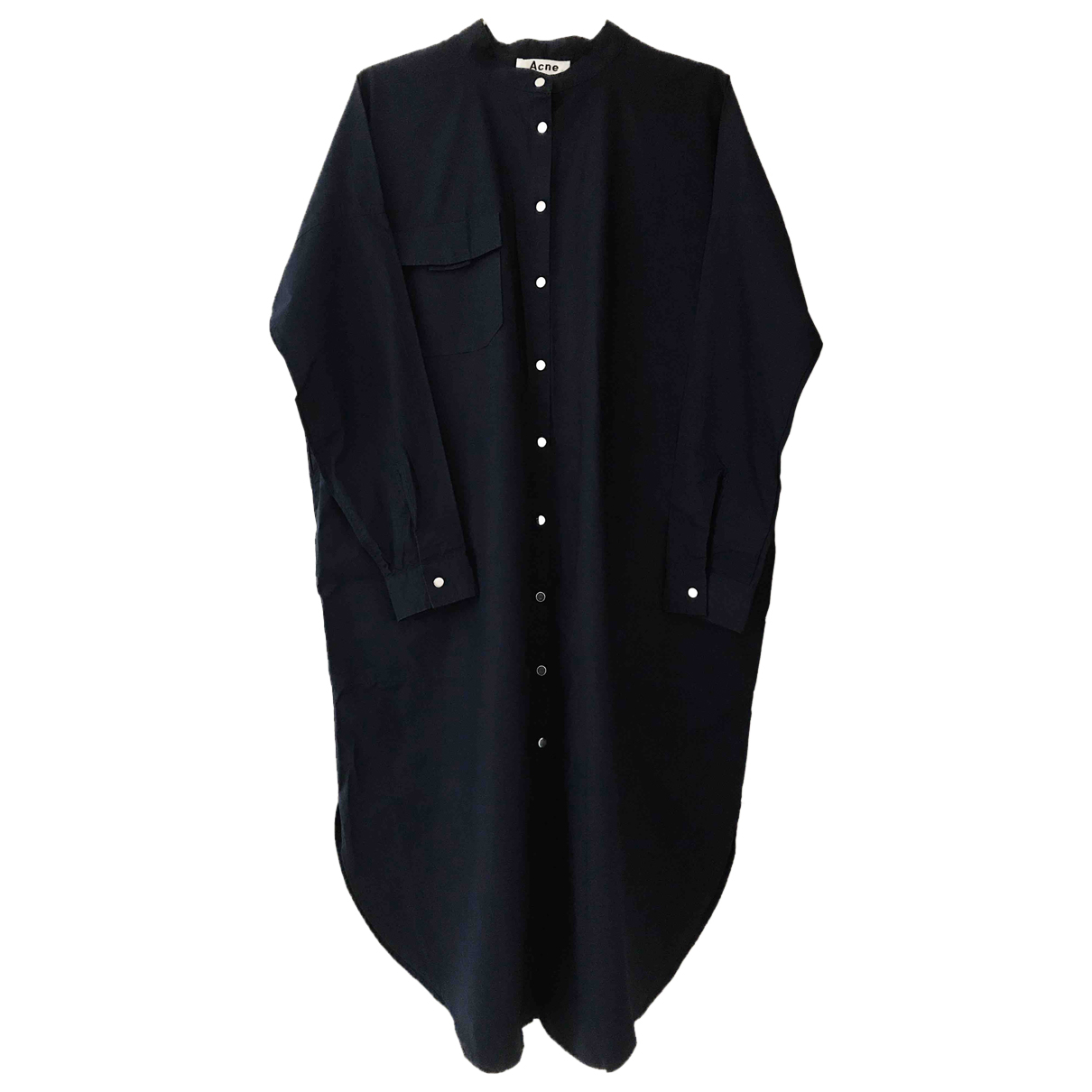 Acne Studios N Navy Cotton dress for Women 36 FR