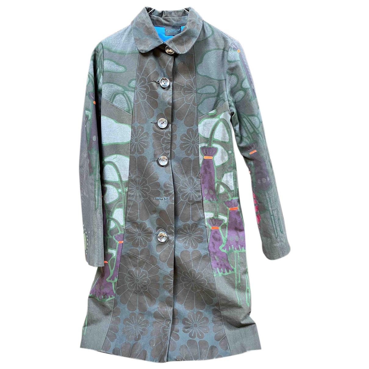 Non Signé / Unsigned N Multicolour Cotton coat for Women 36 IT
