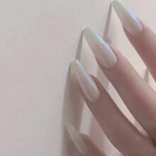 Opal Press-On Nails Set - 24pcs