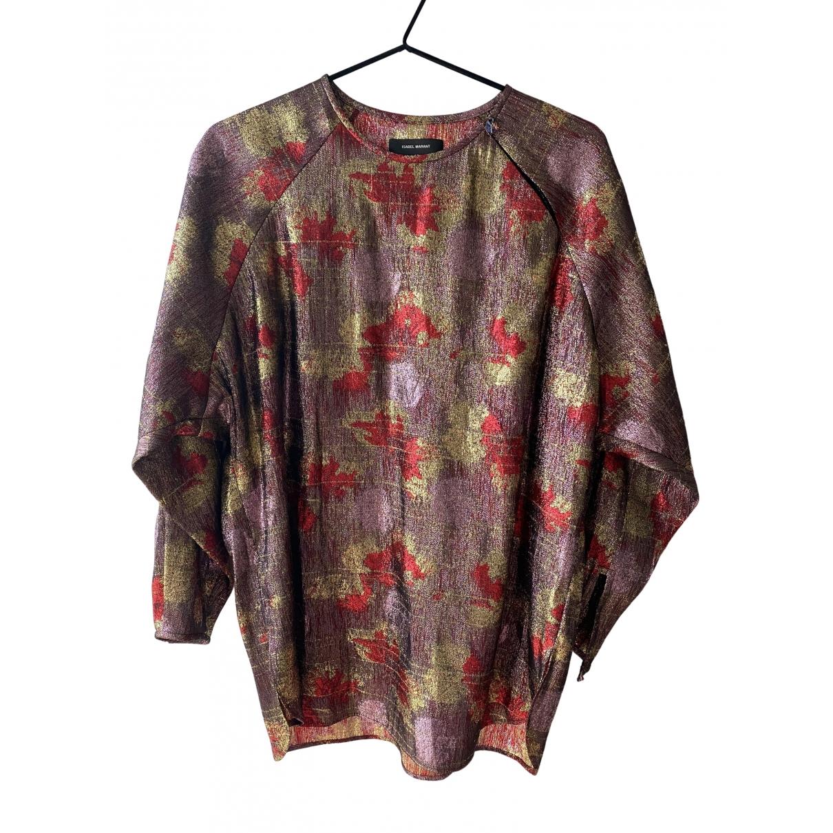 Isabel Marant \N Multicolour Silk  top for Women 38 FR