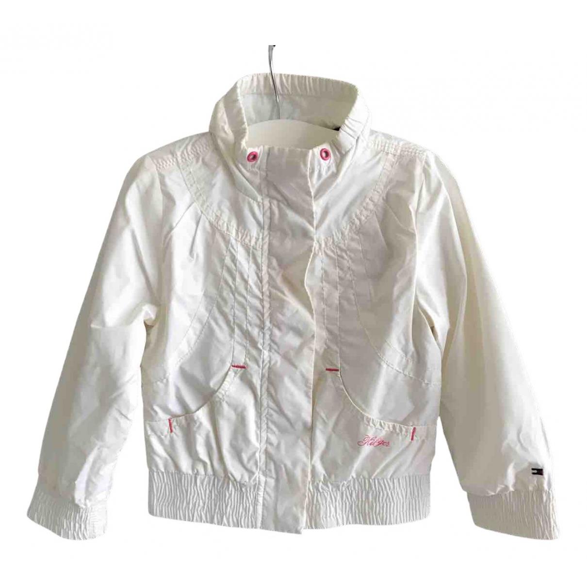 Tommy Hilfiger - Blousons.Manteaux   pour enfant - blanc