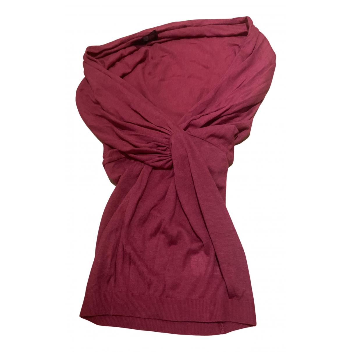 Giambattista Valli N Pink Wool Knitwear for Women 40 FR