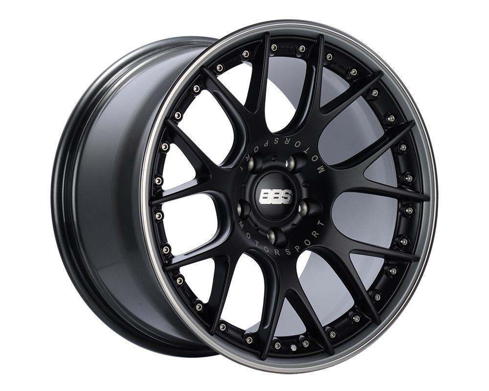 BBS CH-R II Wheel 20x8.5 5x112 42mm Black Center | Platinum Rim