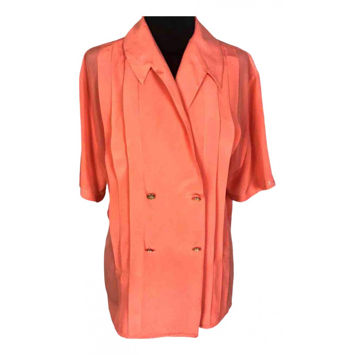 Camisa de Seda Pierre Cardin