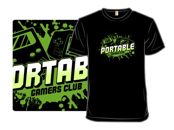 Portable Gamers Club T Shirt