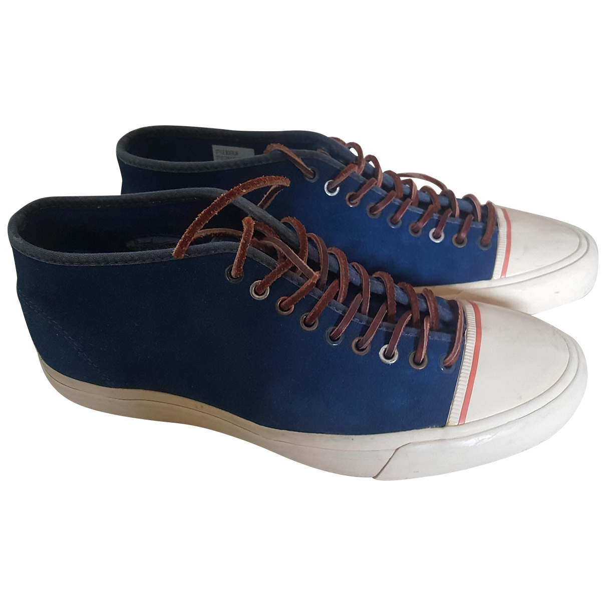 Paul Smith \N Blue Suede Trainers for Men 6 UK