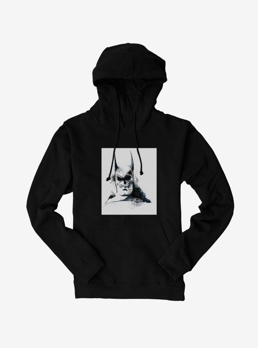 DC Comics Batman Grayscale Watercolor Hoodie