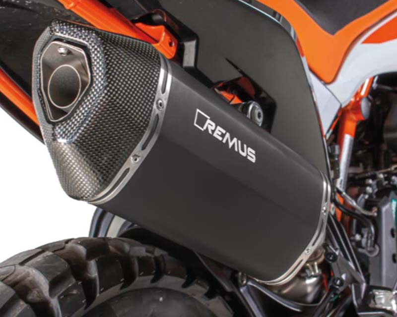 Remus 0964583 655219 Black Hawk Racing Stainless Steel Slip-On Sport Exhaust KTM 790 Adventure | Adventure R 19-20