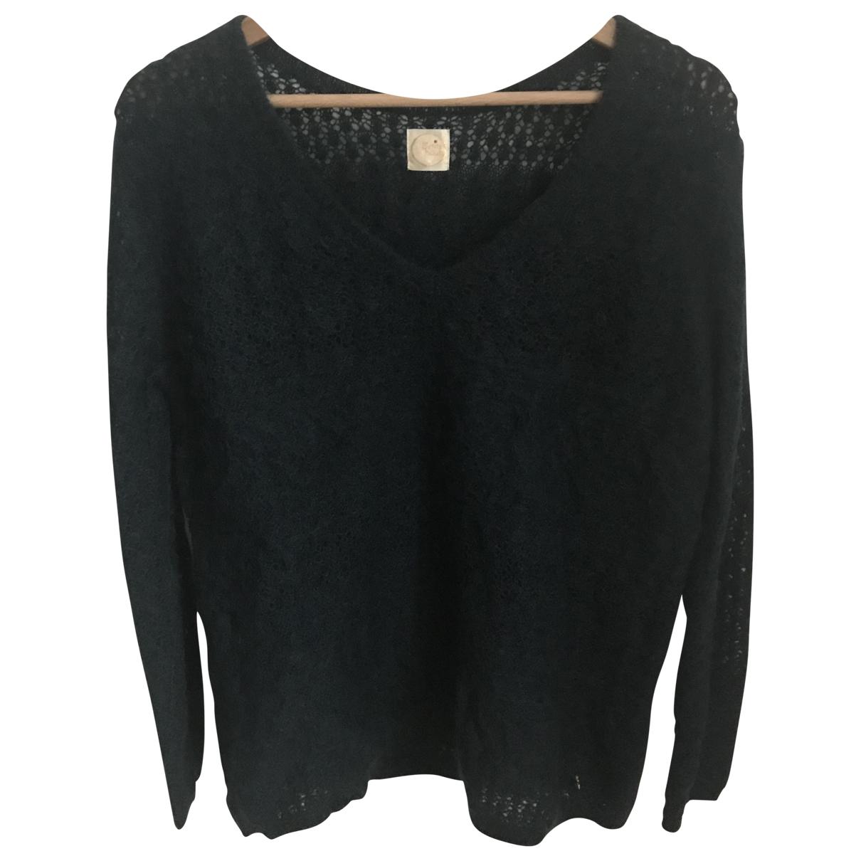 Des Petits Hauts \N Blue Wool Knitwear for Women 1 0-5