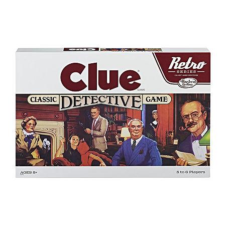 Hasbro Clue Retro Board Game, One Size , No Color Family