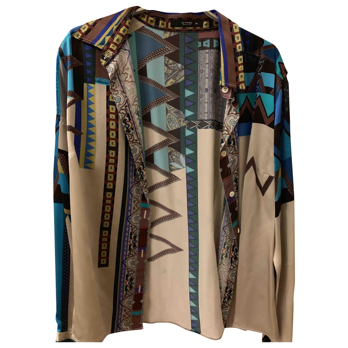 Etro \N Multicolour Silk  top for Women 46 IT