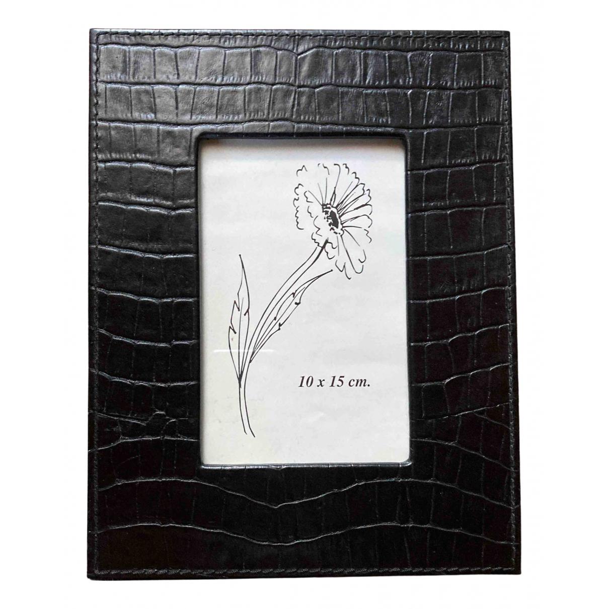 Zara - Objets & Deco   pour lifestyle en cuir - noir