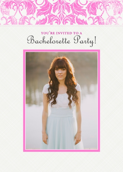 Party Invitations Mail-for-Me Premium 5x7 Folded Card , Card & Stationery -Botanical Bachelorette Party