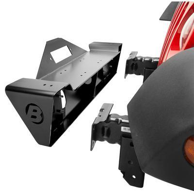 Bestop HighRock 4x4 Narrow Front Winch Bumper (Black) - 42933-01