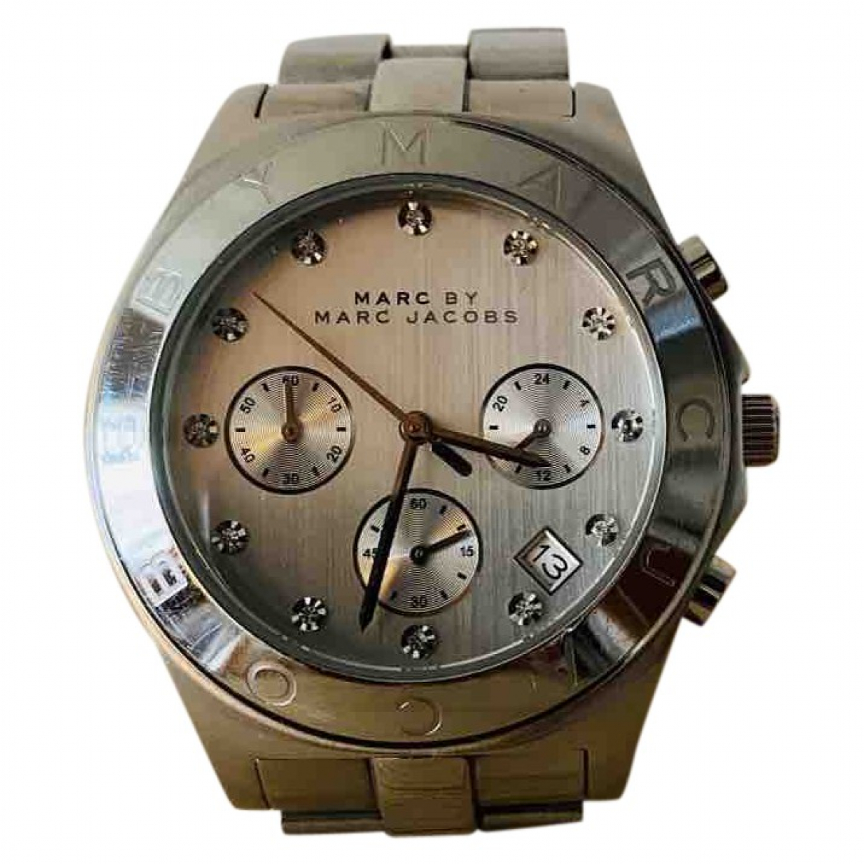 Marc By Marc Jacobs \N Uhr in  Silber Stahl