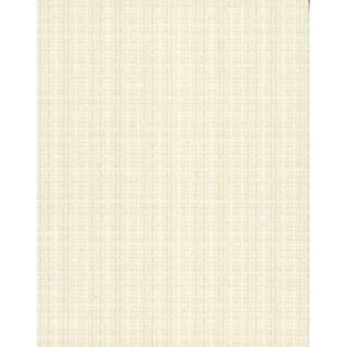Woven Crosshatch Wallpaper, 21 in. x 33 ft. = 57.75 sq.ft. (White)
