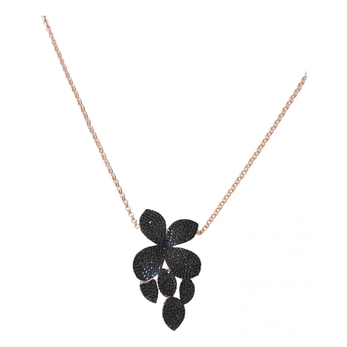 - Collier Motifs Floraux pour femme en metal