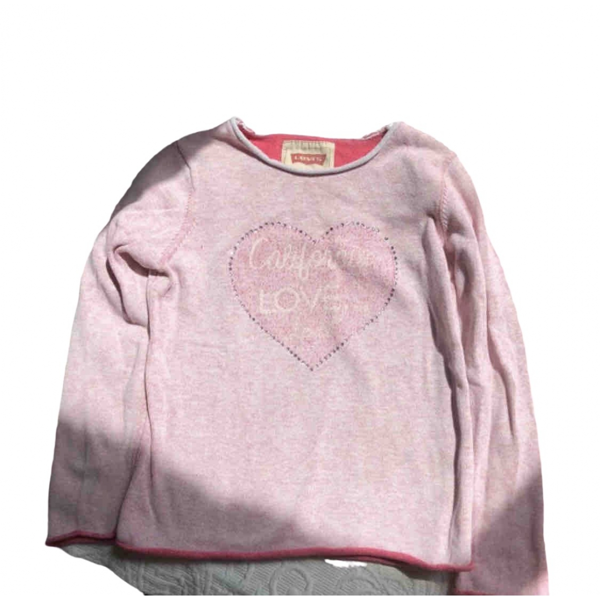 Levis \N Pink Cotton Knitwear for Kids 4 years - up to 102cm FR