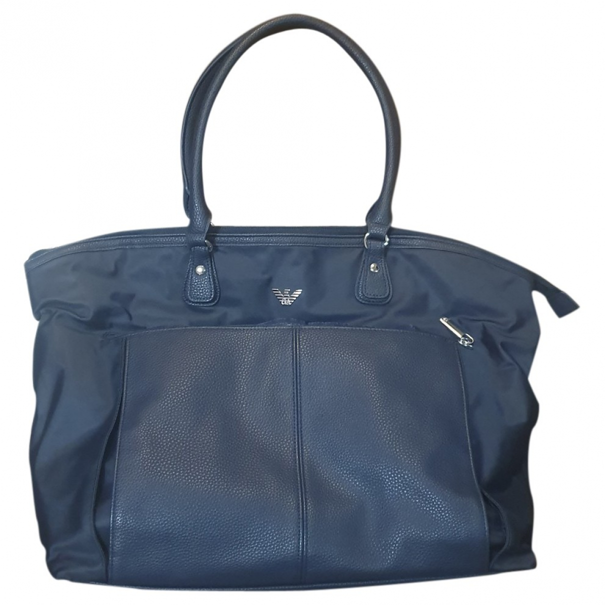 Armani Baby \N Blue Leather bag & Pencil cases for Kids \N