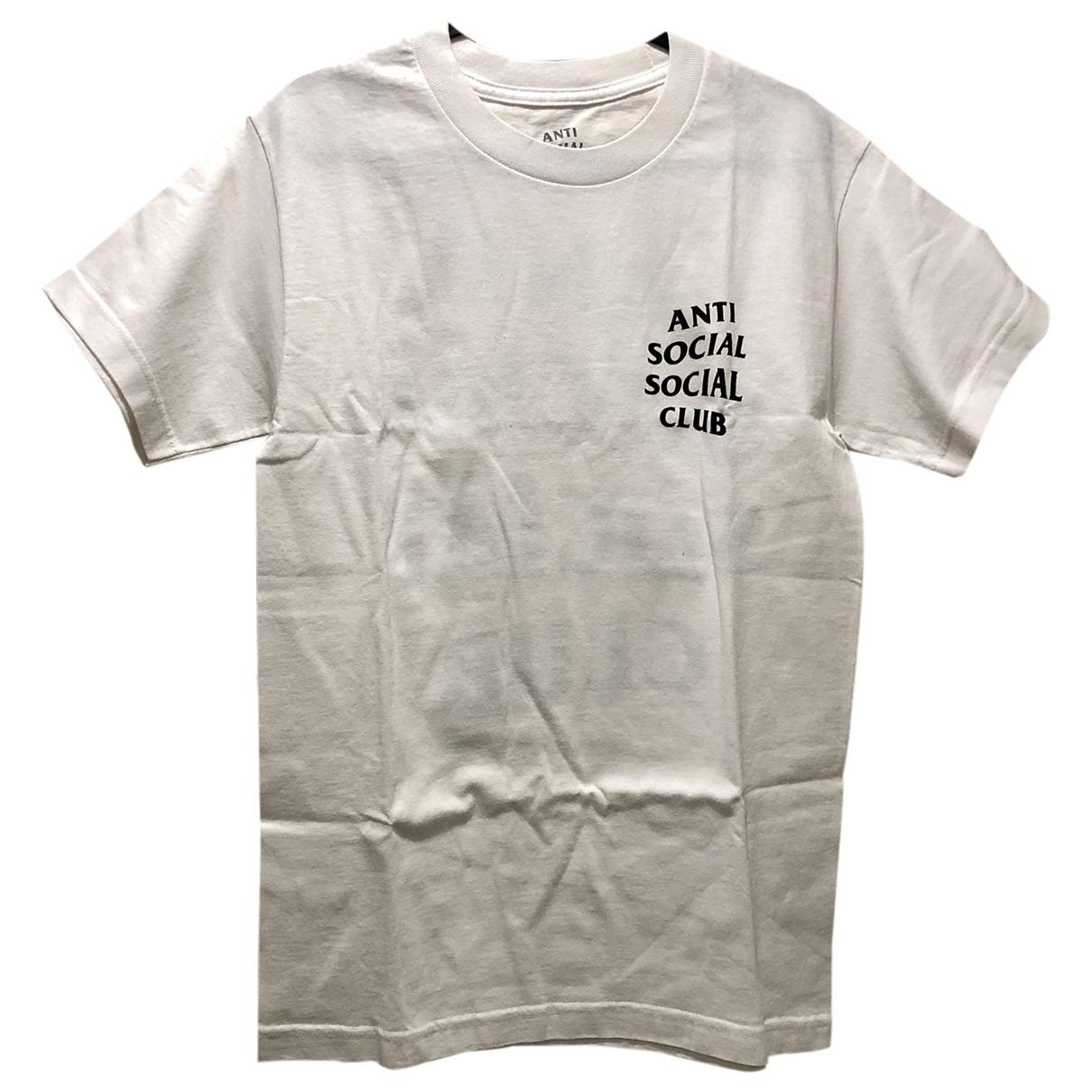 Anti Social Social Club \N T-Shirts in  Weiss Baumwolle