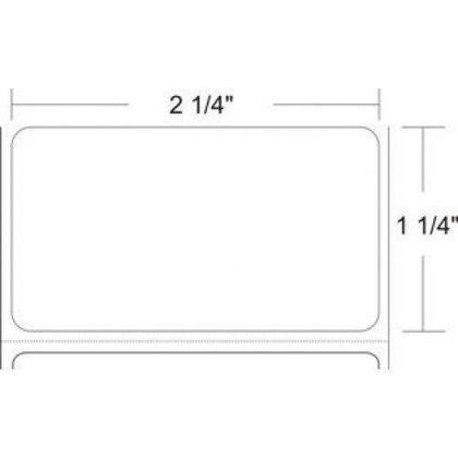Z-Select 4000D Direct Thermal Transfer Label, 2-1/4