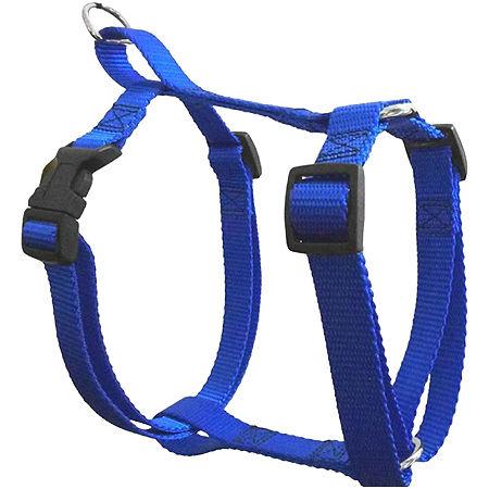 Majestic Pet Adjustable Nylon Dog Harness, One Size , Blue