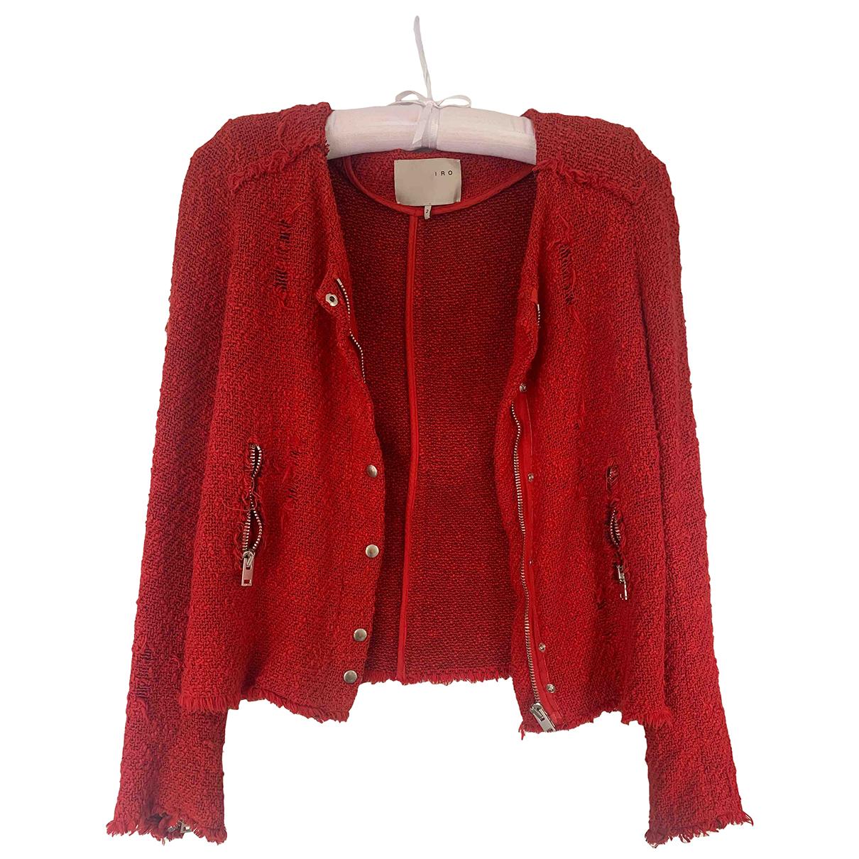 Iro - Veste   pour femme en coton - rouge