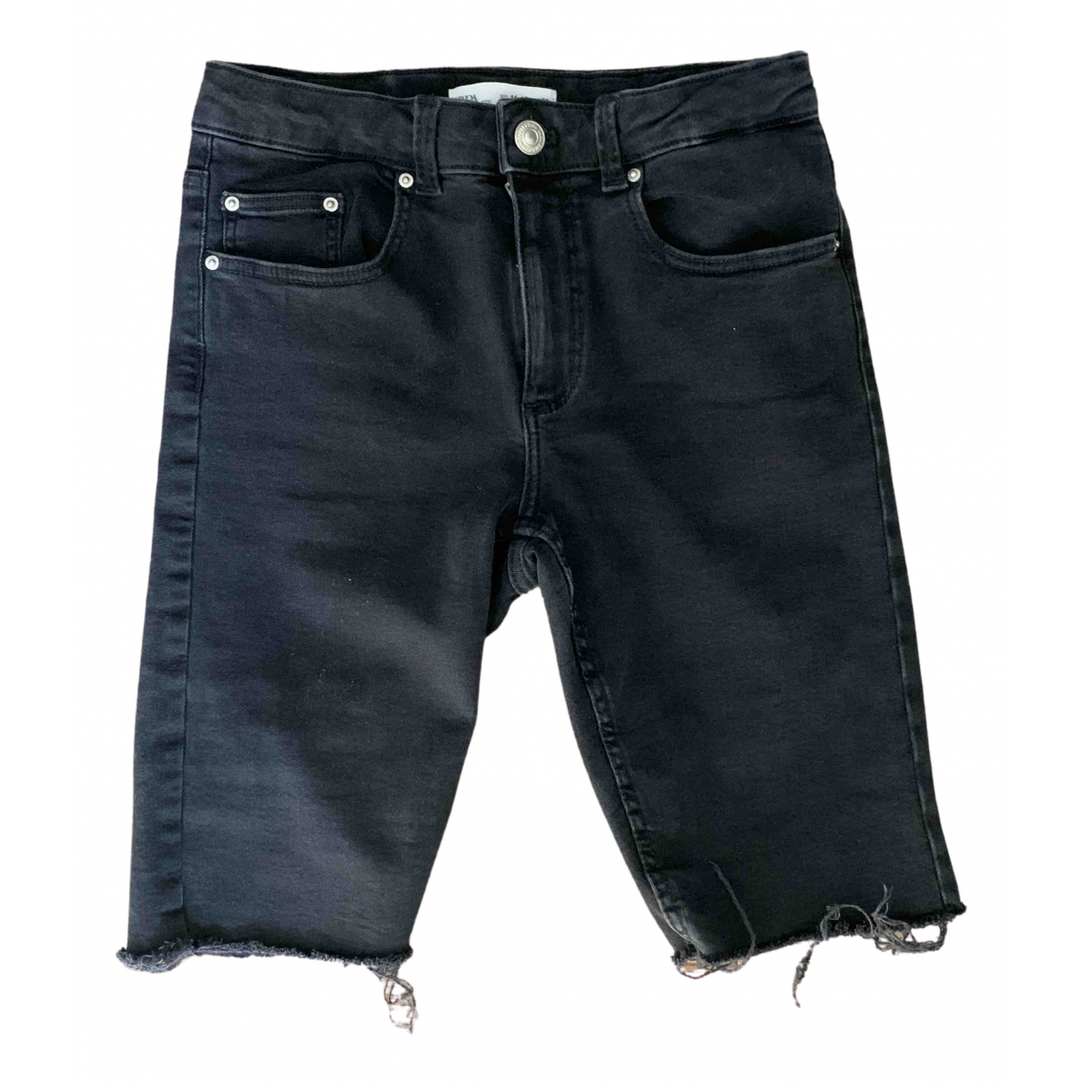 Zara - Pantalon   pour enfant en denim - noir