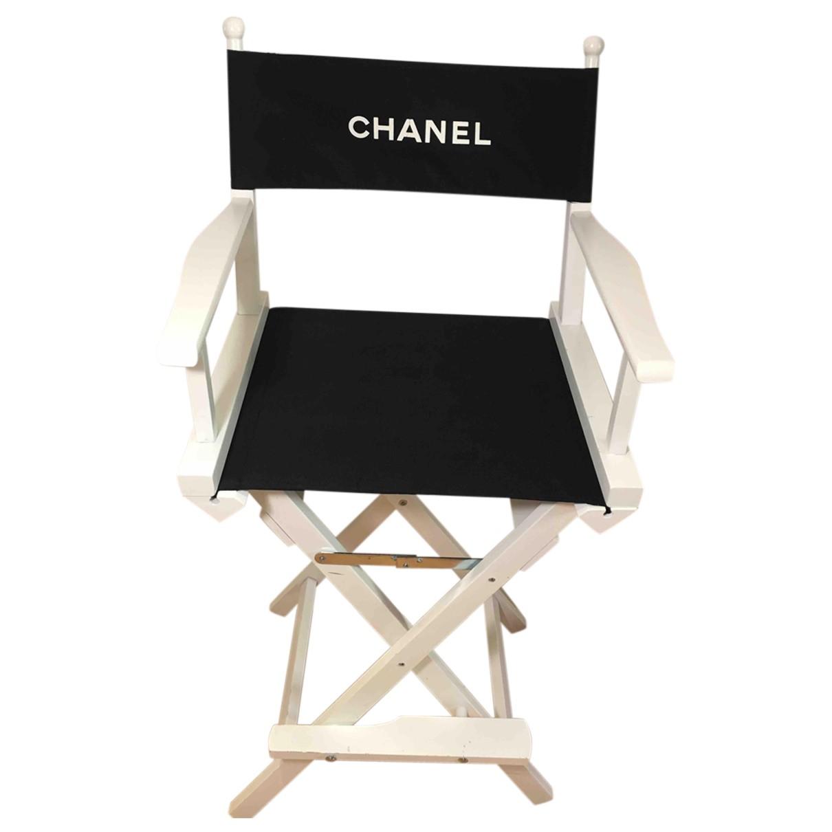 Chanel - Objets & Deco   pour lifestyle en bois - blanc