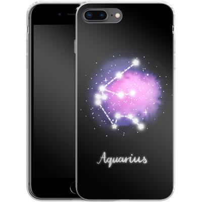 Apple iPhone 8 Plus Silikon Handyhuelle - AQUARIUS von Becky Starsmore