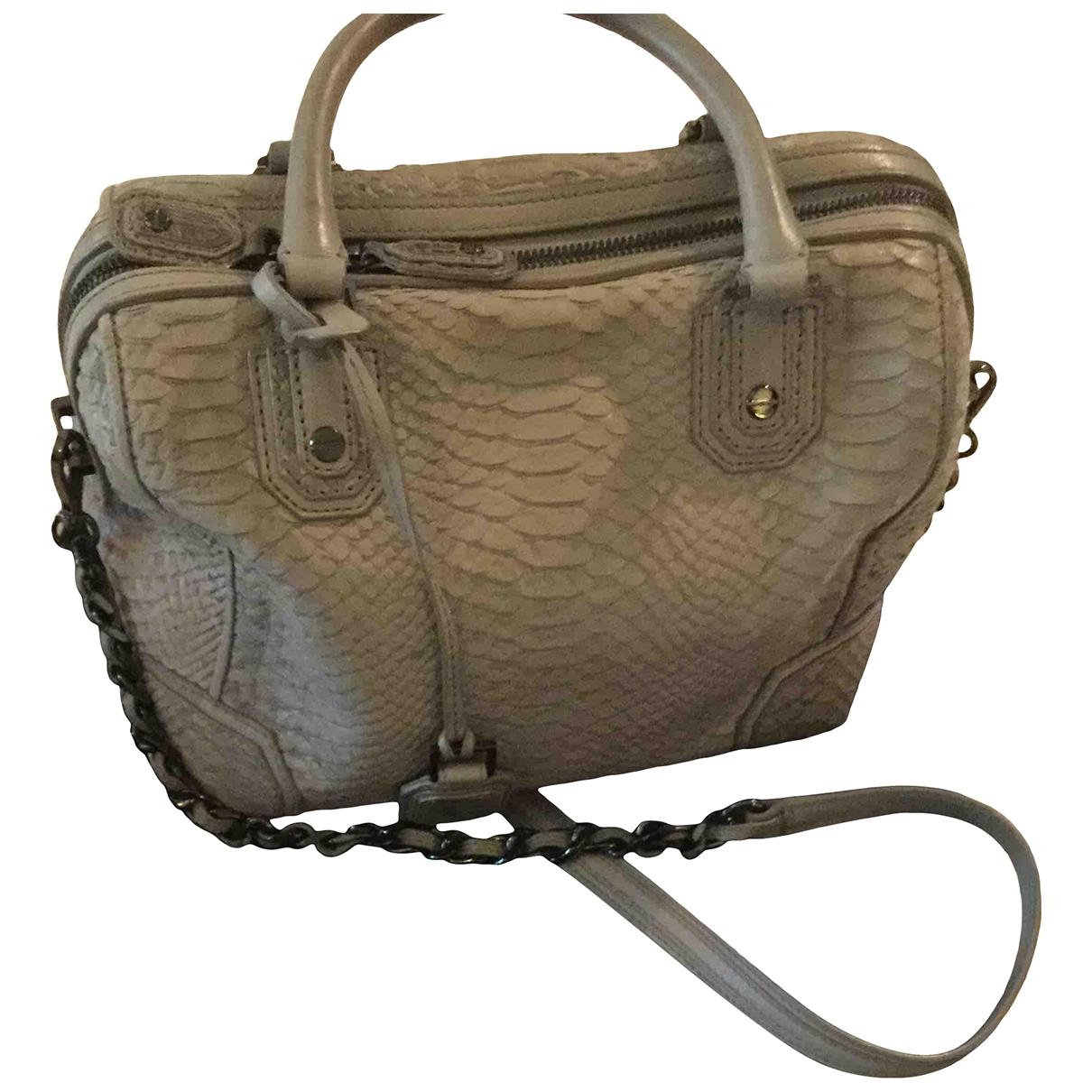 Alice & Olivia \N Grey Leather handbag for Women \N