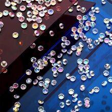 1000 Stuecke Transparenter Acryl Diamant
