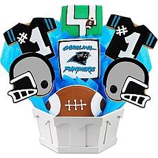NFL Carolina Panthers Cookie Bouquet