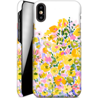 Apple iPhone XS Smartphone Huelle - Flower Fields Sunshine von Amy Sia