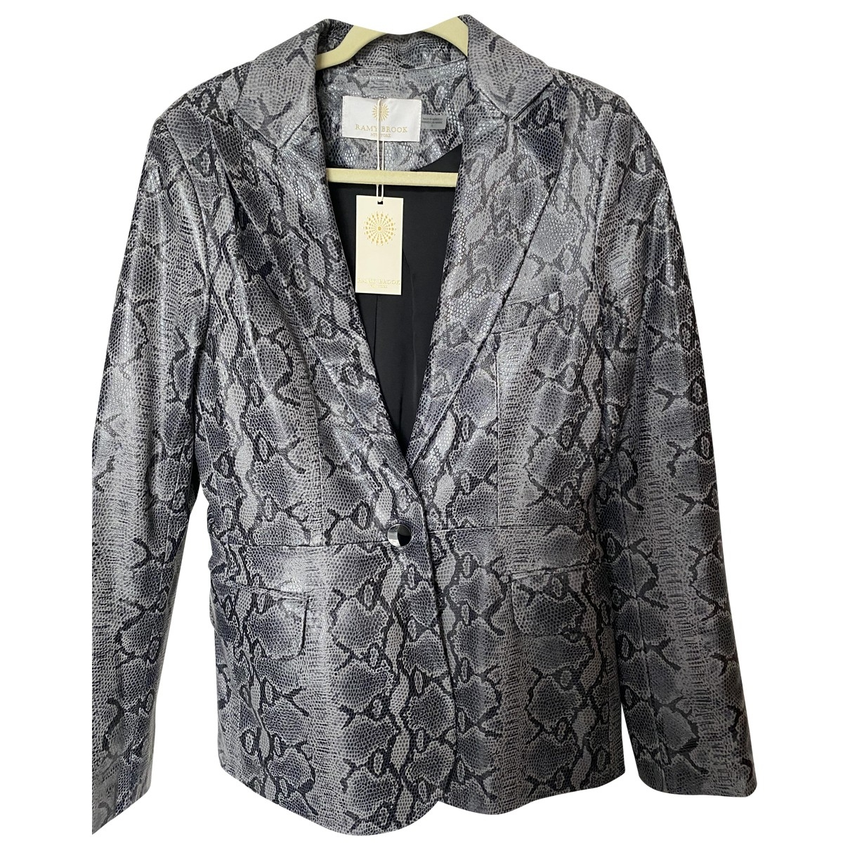 Ramy Brook \N Multicolour Leather jacket for Women 6 US