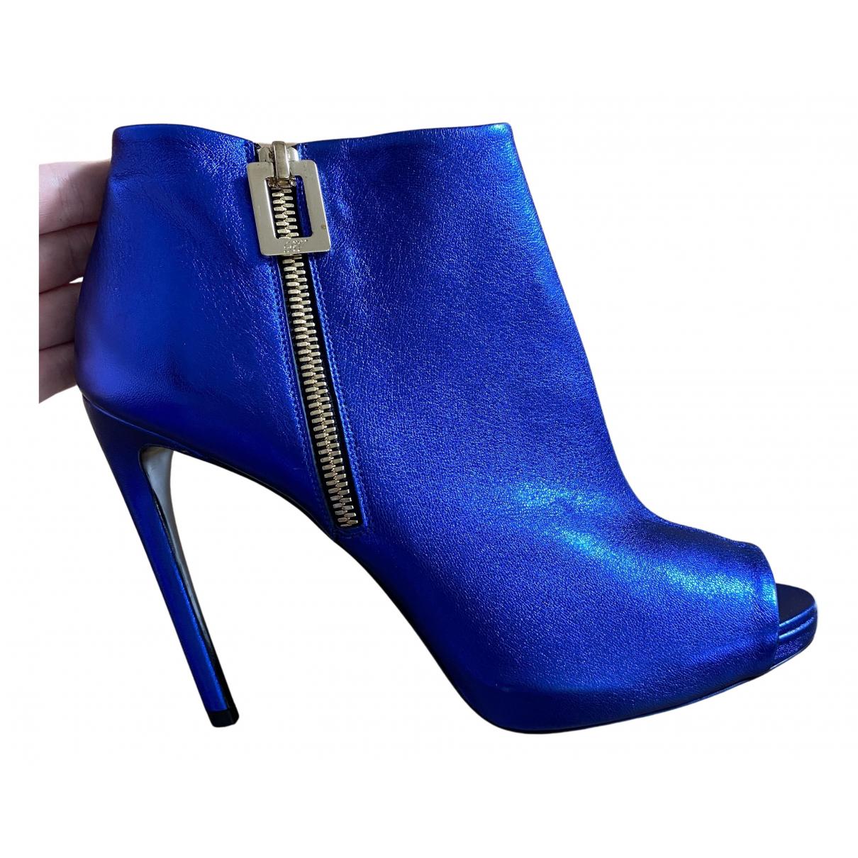 Roger Vivier \N Pumps in  Blau Leder