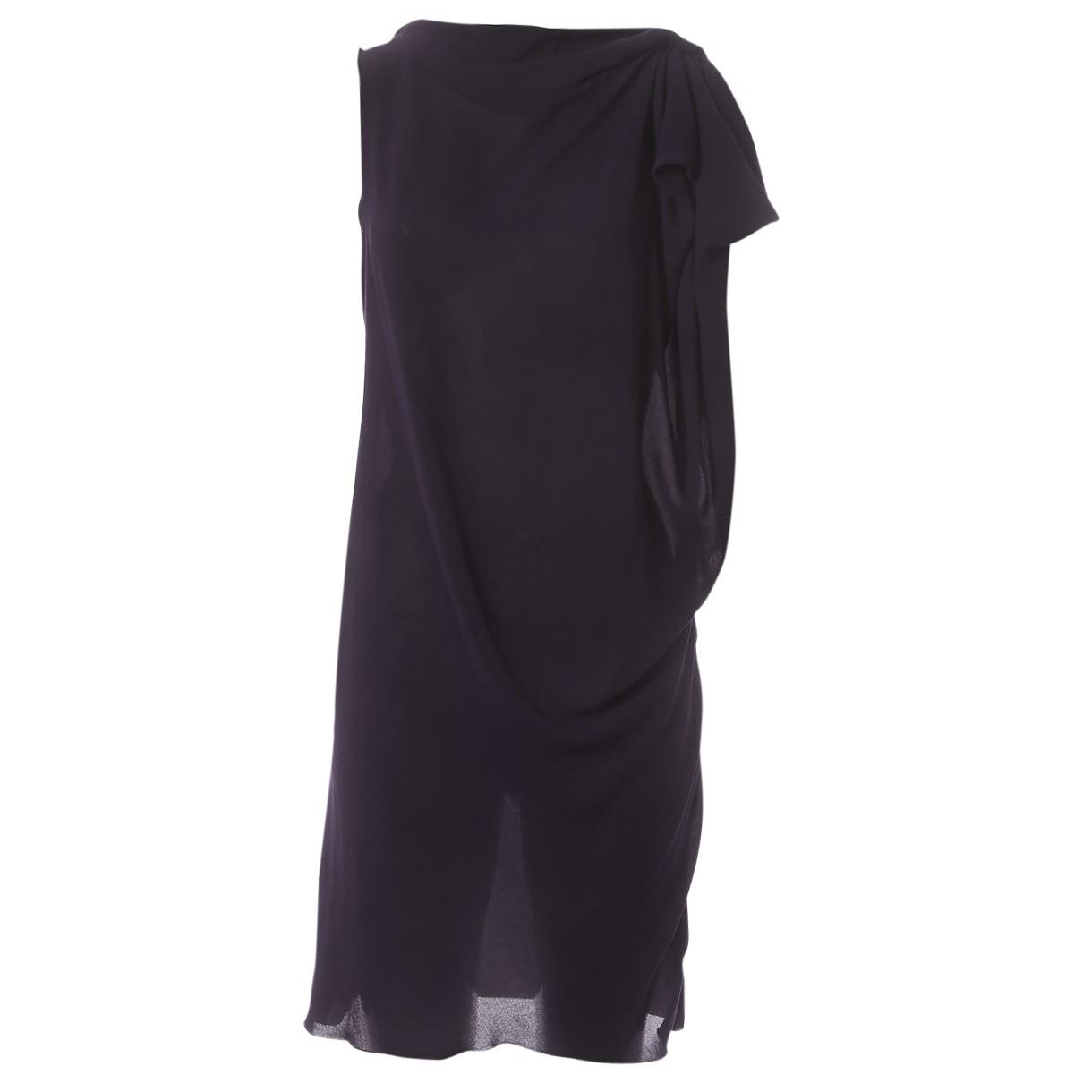 Lanvin \N Purple dress for Women 36 FR