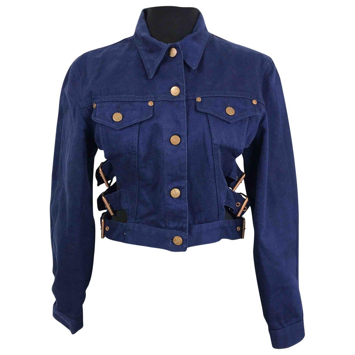 Jean Paul Gaultier \N Blue Cotton jacket for Women 44 IT